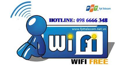 Lắp mạng wifi FPT - Lựa chọn tối ưu nhất cho người Việt